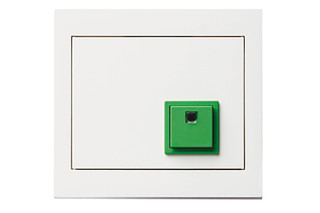 Berker - K.1 stop button  by  hager group