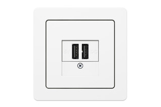 K.1 USB charging socket  by  hager group