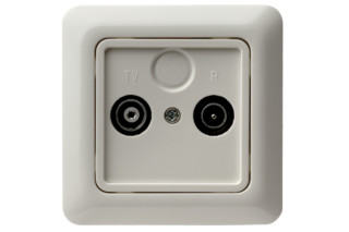 MODUL 2 tv-socket  by  Berker
