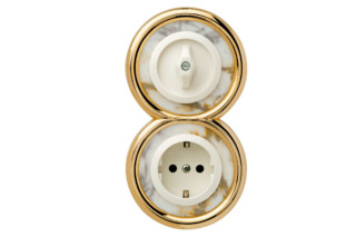 PALAZZO switch-socket-combination  by  Berker
