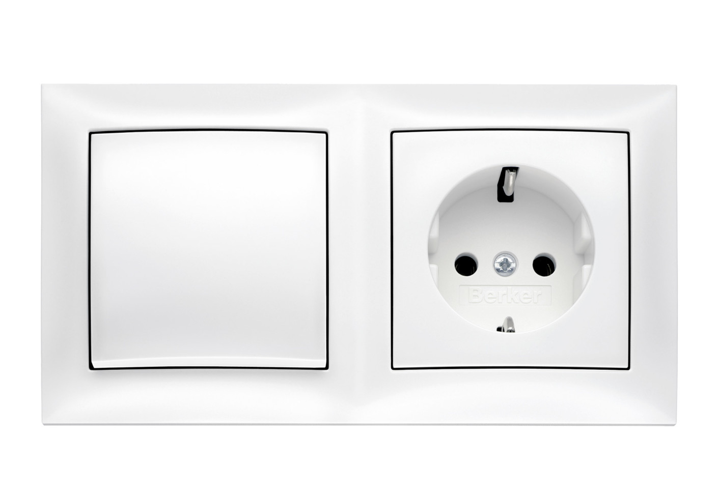 Neu S.1 switch-socket-combination by Berker | STYLEPARK LR28