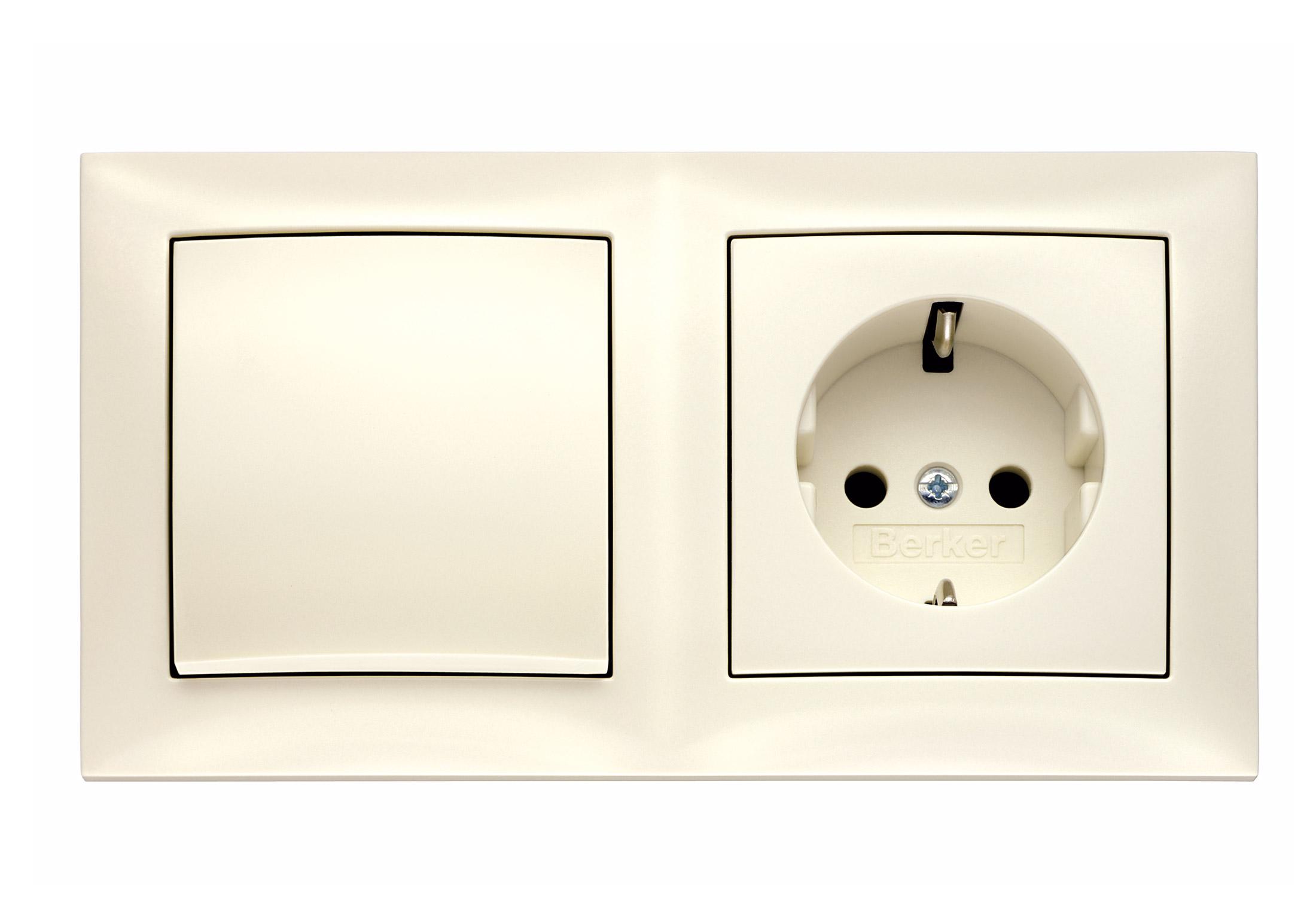 S.1 Schalter-Steckdosen-Kombination von Berker | STYLEPARK