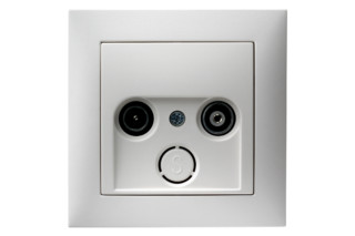 S.1 tv-socket  by  Berker
