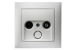 S.1 tv-socket  by  hager group