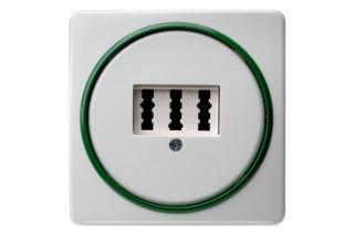 TWINPOINT phone-socket  by  Berker