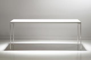 Edge worktable  by  Bernhardt Design