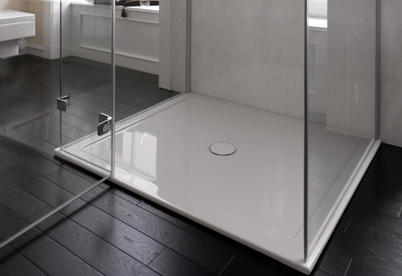 Image result for slimline shower trays