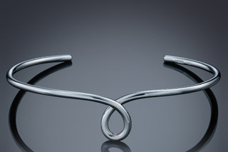 Loop bangle  by  Biegel