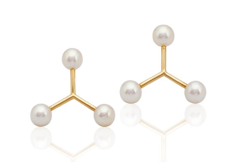 Molekular Ohrringe