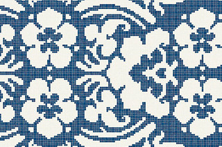 Decoupage Bleu  by  Bisazza