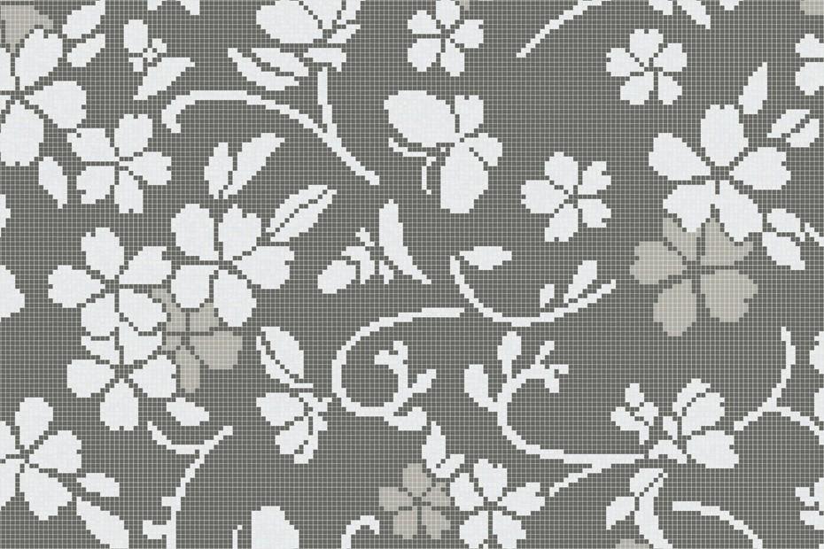 Hana Flower Grey A