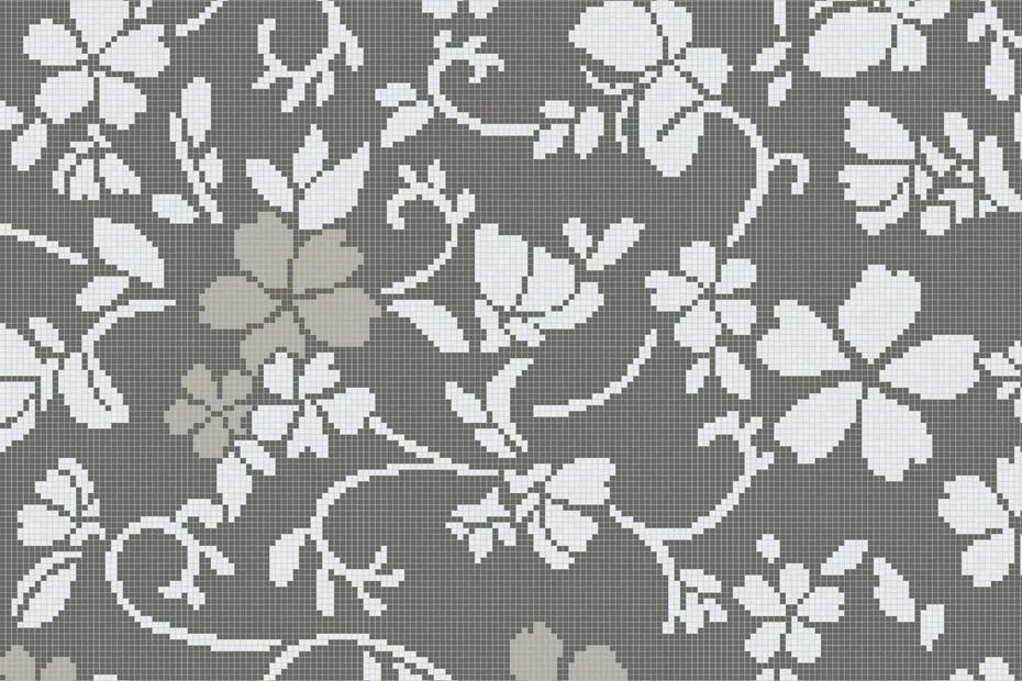 Hana Flower Grey B