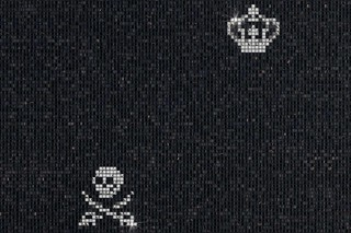 Skulls & Crowns Black  by  Bisazza