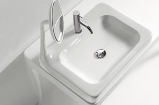 The Hayon Collection - Washbasin with mirror  by  Bisazza