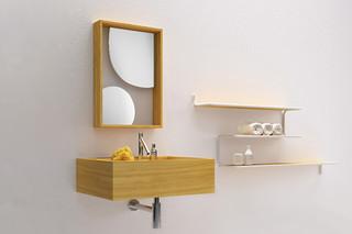 The Nendo Collection - Waschbecken klein  von  Bisazza