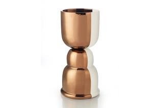 Copper vase  by  Bitossi Ceramiche