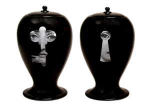 Lock/Key black  by  Bitossi Ceramiche