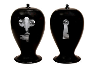 Lock/Key black  by  Bitossi Ceramiche