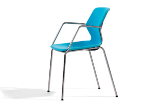 Boo chair with armrests  by  Blå Station