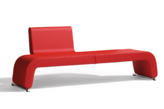 Polstergeist sofa/bench  by  Blå Station