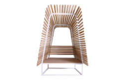 Ill 252 Outdoor Bench By Bleu Nature Stylepark