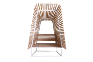 Illü outdoor easy chair  by  Bleu Nature