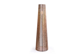 Illü standing lamp conical  by  Bleu Nature