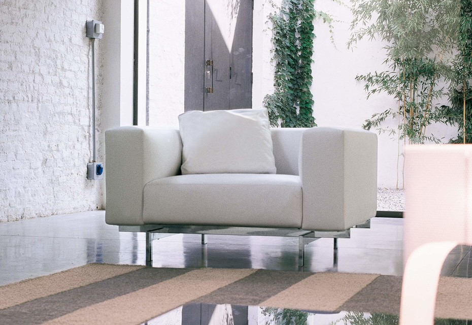 Glide armchair