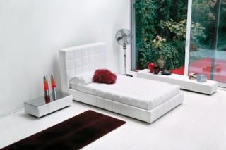 Squaring Alto single bed  by  Bonaldo