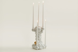 Bubbles candleholder  by  Bosa