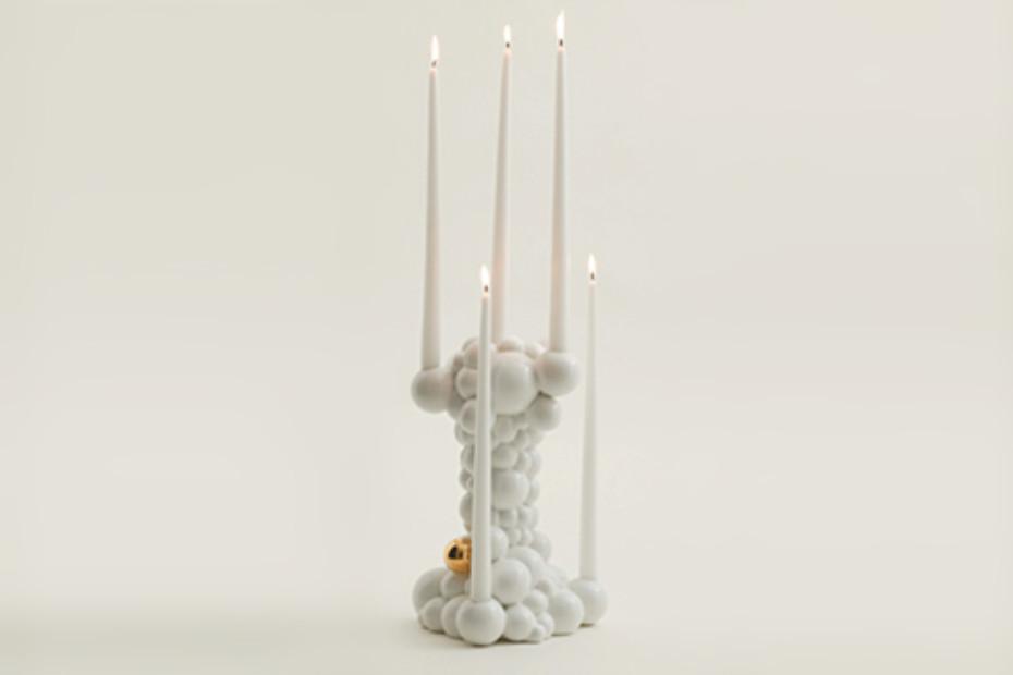 Bubbles Kerzenständer