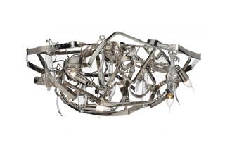 Delphinium Ceiling lamp round  by  Brand van Egmond