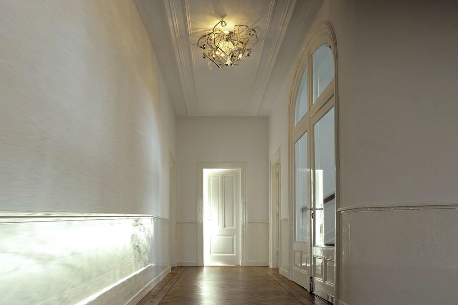Delphinium Ceiling lamp round