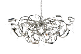 Delphinium Chandelier oval  by  Brand van Egmond