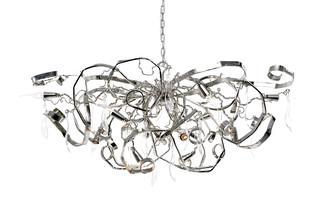 Delphinium Chandelier oval  by  Brand van Egmond