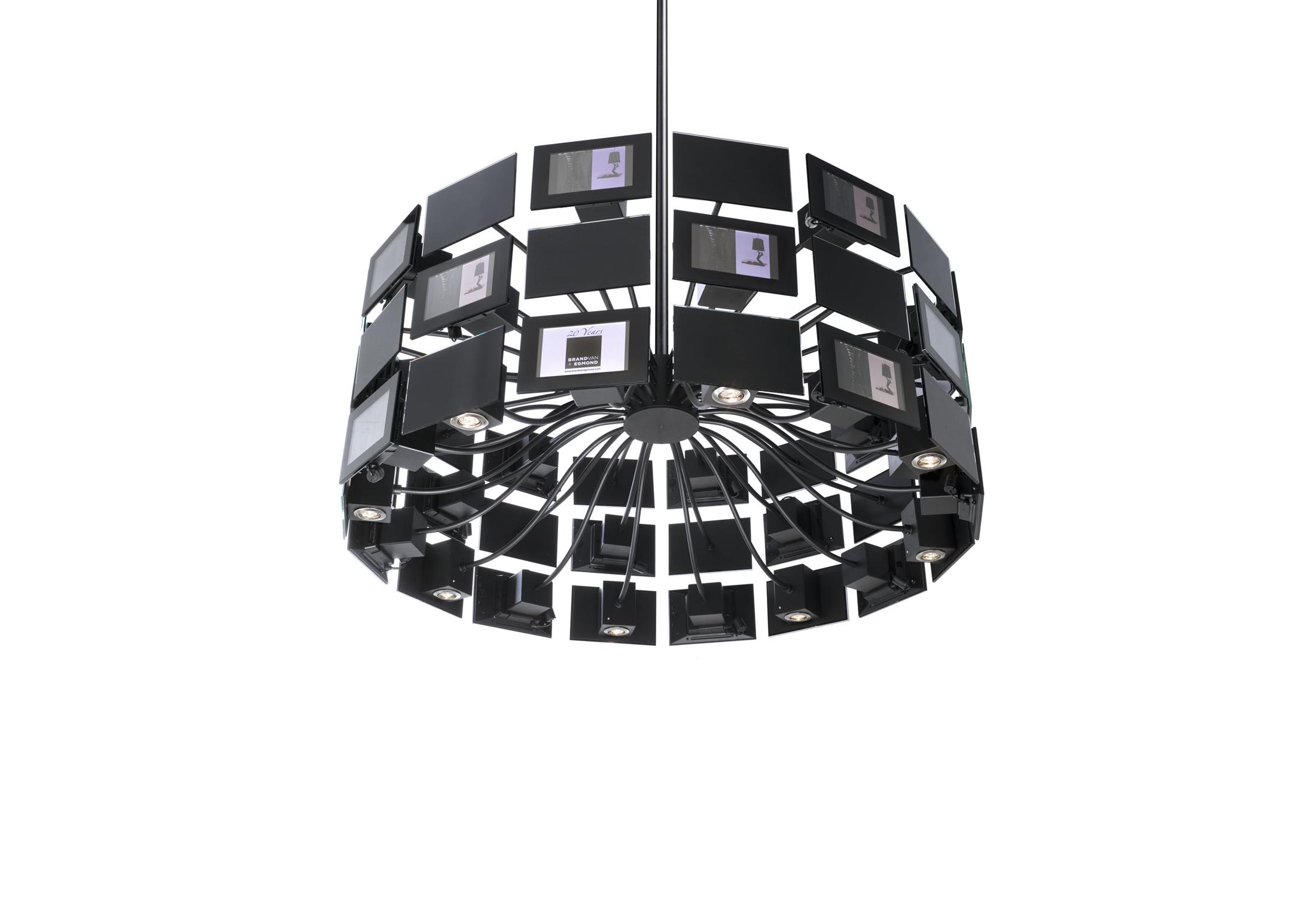 digital dreams kronleuchter rund gross von brand van egmond stylepark. Black Bedroom Furniture Sets. Home Design Ideas