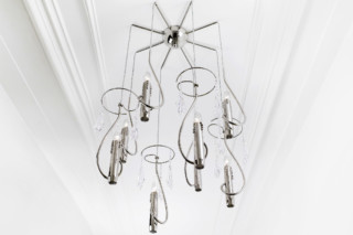 Floating Candles Chandelier  by  Brand van Egmond