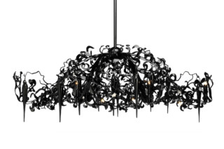 Flower Power Chandelier oval  von  Brand van Egmond