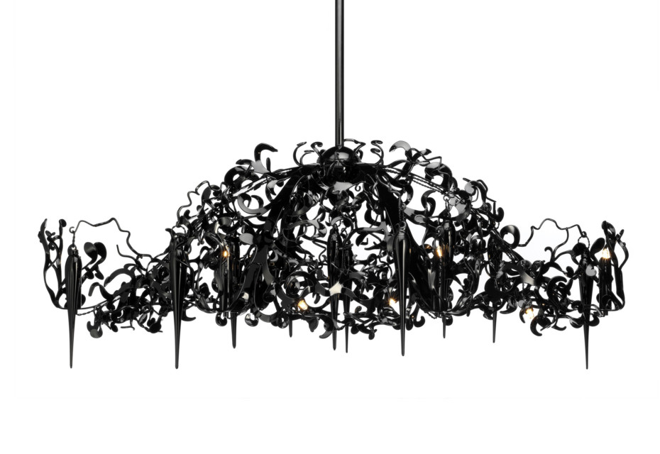 Flower Power Chandelier oval