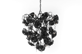 Love you Love you not Chandelier conical  by  Brand van Egmond