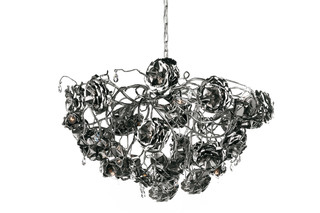 Love you Love you not Chandelier round  by  Brand van Egmond