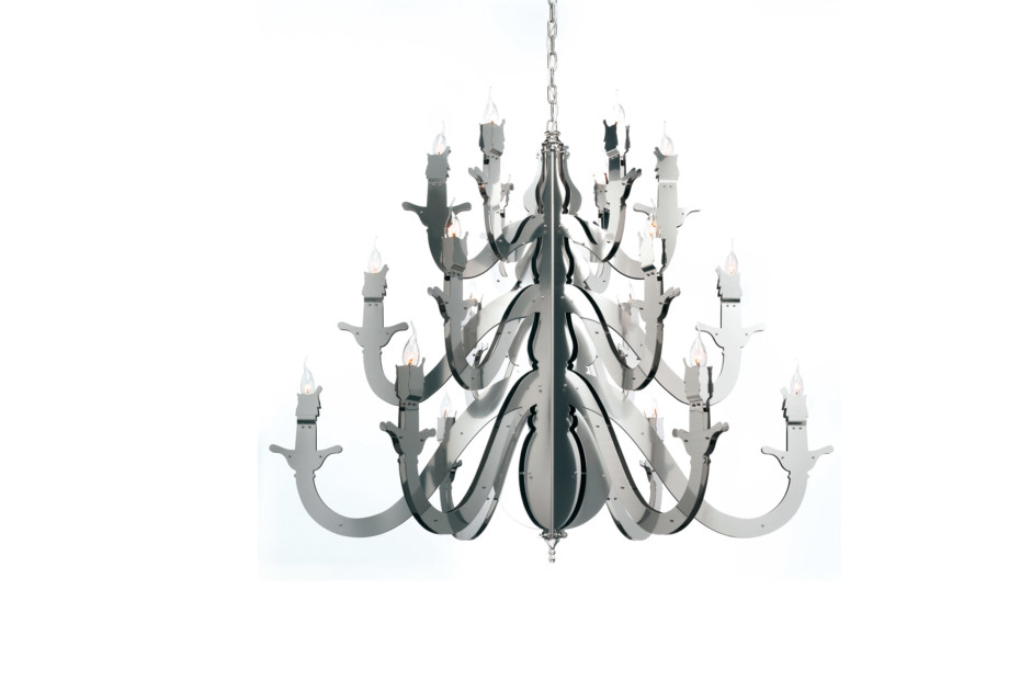 Night Watch Chandelier round