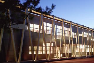 Formboard Fassade, Haus der Schüler  von  BRUAG
