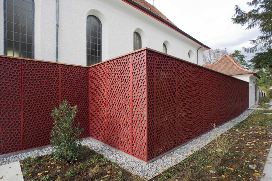 Formboard, Kirche Arlesheim