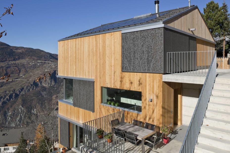 Formboard Perforation, Mehrfamilienhaus Zimmermann