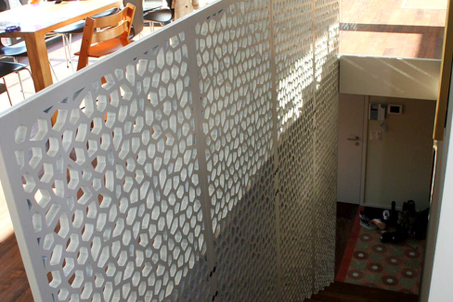MDF Perforation, Einfamilienhaus