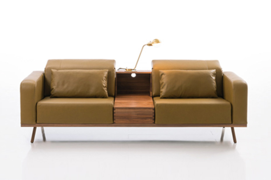 Deep Space sofa 3-seater with storage container
