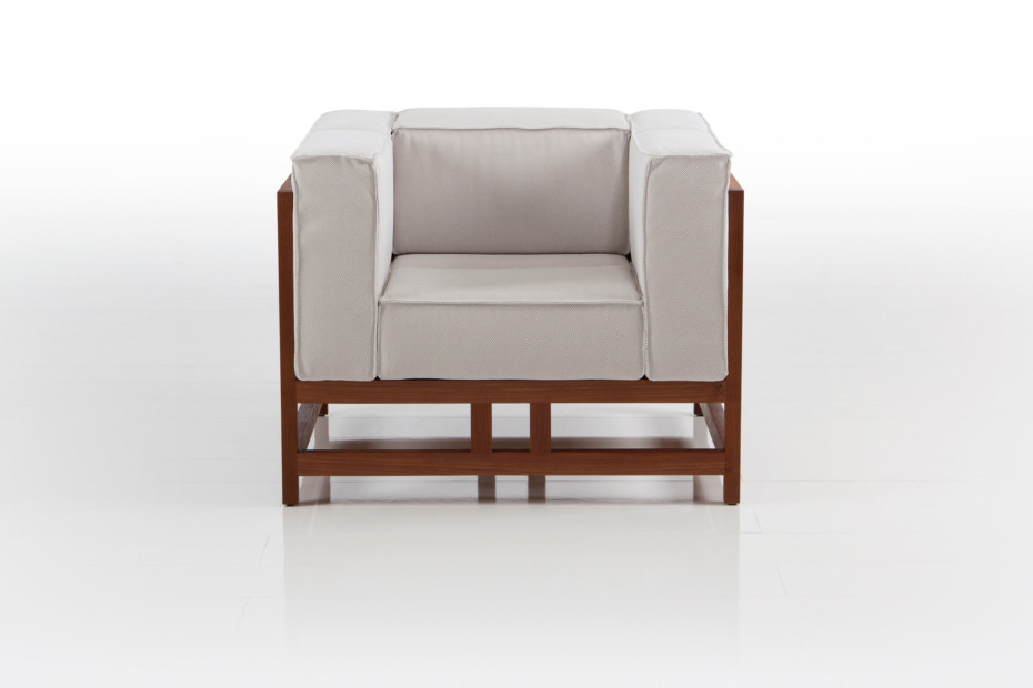 Easy Pieces lodge armchair