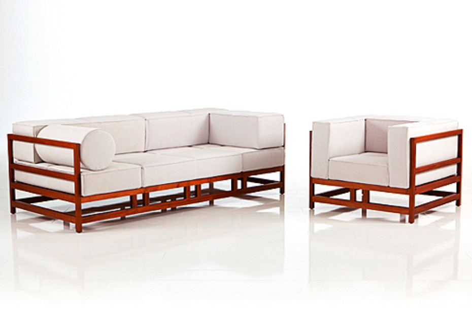... Easy Pieces Lodge Sofa ...