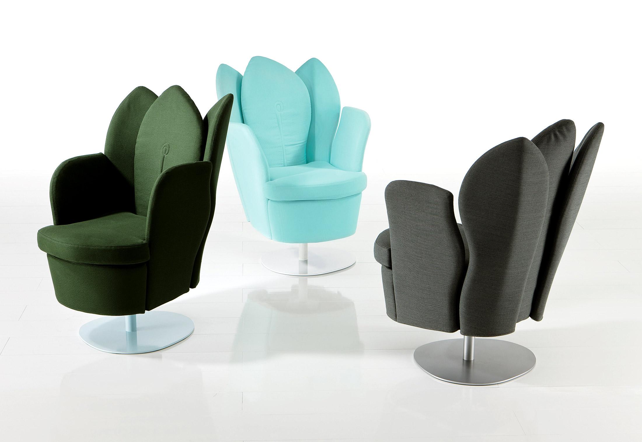 morning dew swivel chair by br hl stylepark. Black Bedroom Furniture Sets. Home Design Ideas